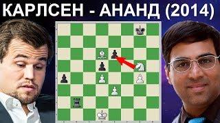 Шахматы. Магнус Карлсен - Виши Ананд. ЧУДОВИЩНЫЙ ЗЕВОК Чемпиона Мира!