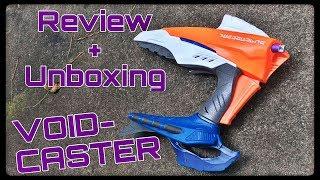 Honest Review: Nerf VoidCaster (Double Action Alien Menace Sidearm)