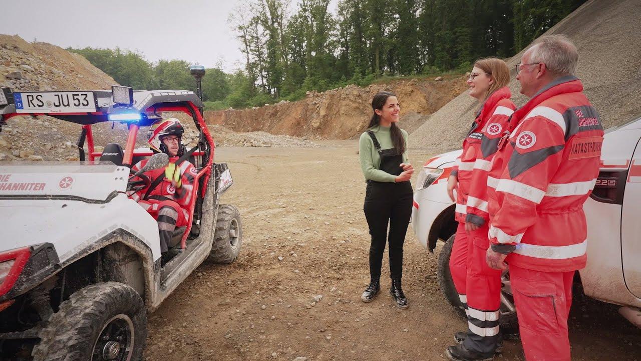 """Download """"Clari im Ernst"""" bei den Johannitern: So geht ehrenamtlicher Katastrophenschutz"""