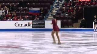 Elizaveta Tuktamysheva - Skate Canada 2012 - Short Program