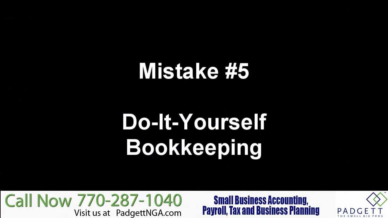 Avoid the do it yourself bookkeeping accounting mistake youtube avoid the do it yourself bookkeeping accounting mistake solutioingenieria Image collections