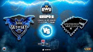 Hoy juega el Campeón actual y va invicto!!! Torneo EWU! | Clash of Clans
