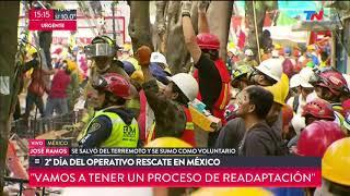 Los rescates ms emotivos tras el terremoto en Mxico