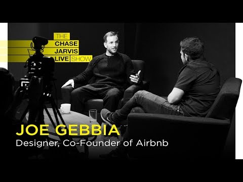 AirBnb's Joe Gebbia: The Intersection of Art & Business | Chase Jarvis LIVE
