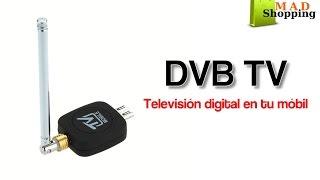 DVB-T. Televisión digital en tu teléfono móvil.