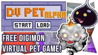 The VIRTUAL Virtual Pet (FREE PC/Mac Game, Digimon DVPet Alpha) #1
