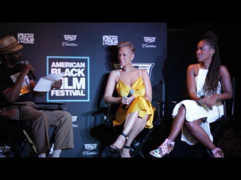 ABFF 2017 -  DeWanda Wise And Tonya Lewis Lee Talk Netflix's She's Gotta Have It