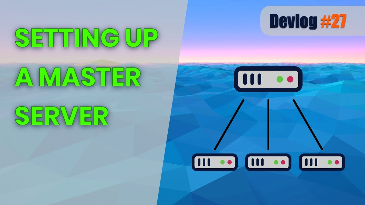 Setting Up a Master Server and Fixing My Screenshot Code | Unity Multiplayer Game Devlog #27