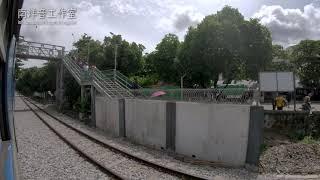 Yangon Circular Railway - Kamayut to Kyaikkale