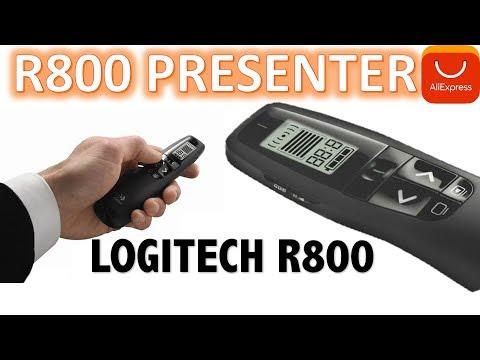 Logitech R800 Laser Pointers Pen presenter 2.4 GHz Wireless Presenter Unboxing Aliexpress