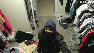 Surveillance video catches thief in action at Cypress home