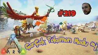3D Gerçek Pokemon Modu # 4 - Ark survival evolved # 219 [ Türkçe ]