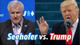 Seehofer vs. Trump (Mash Up)