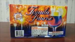 Fireworks Demo (500 Gram Fountain) - Tequila Sunrise (glorious)