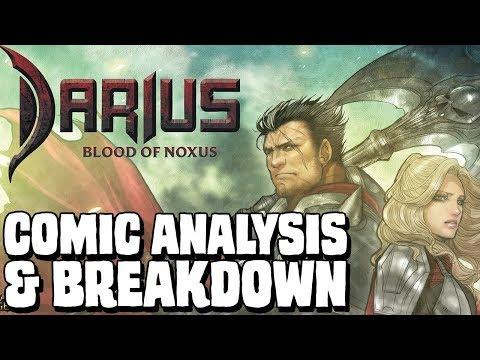 DARIUS: Blood of Noxus - comic analysis & breakdown