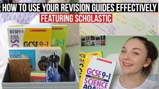 HOW TO USE REVISION GUIDES EFFECTIVELY & GIVEAWAY FT. SCHOLASTIC|Sophia