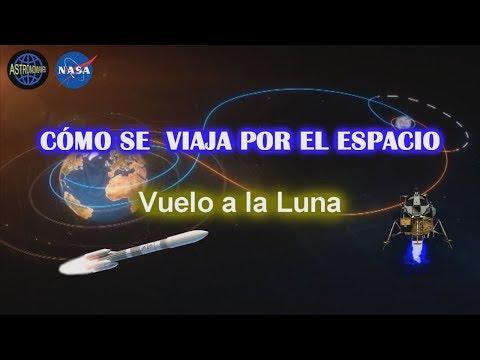 Cómo son los Viajes espaciales- El Viaje a la Luna del Apolo