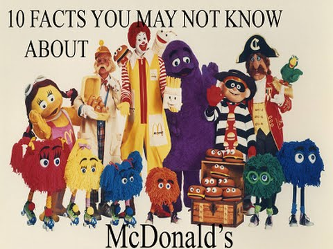 McDonald's 3 - 10 Facts You May Not Know