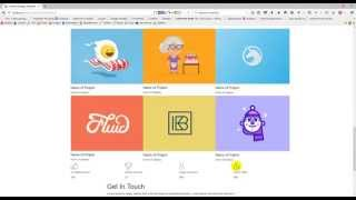 PSD to HTML with Bootstrap for Creative Template (Part-02)