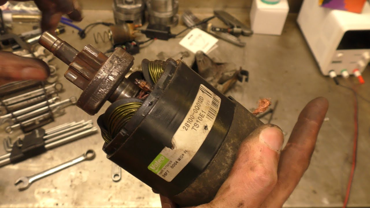 Sticky Starter Solenoid Repair