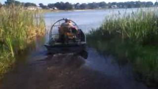 Mini Homemade Airboat