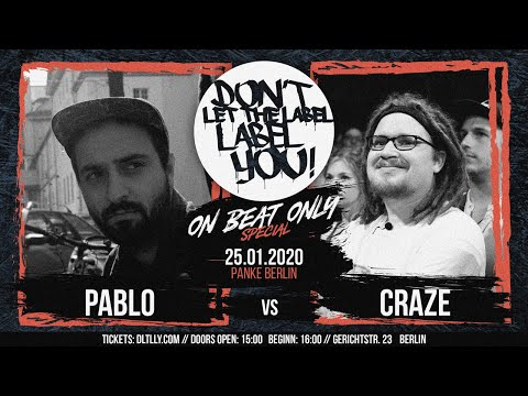 Craze vs Pablo // DLTLLY OnBeatBattle (Berlin) // 2020