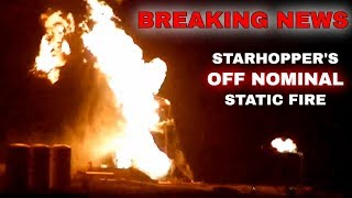 SpaceX in the News - Starhopper Engulfed In Flames! (Episode 36)