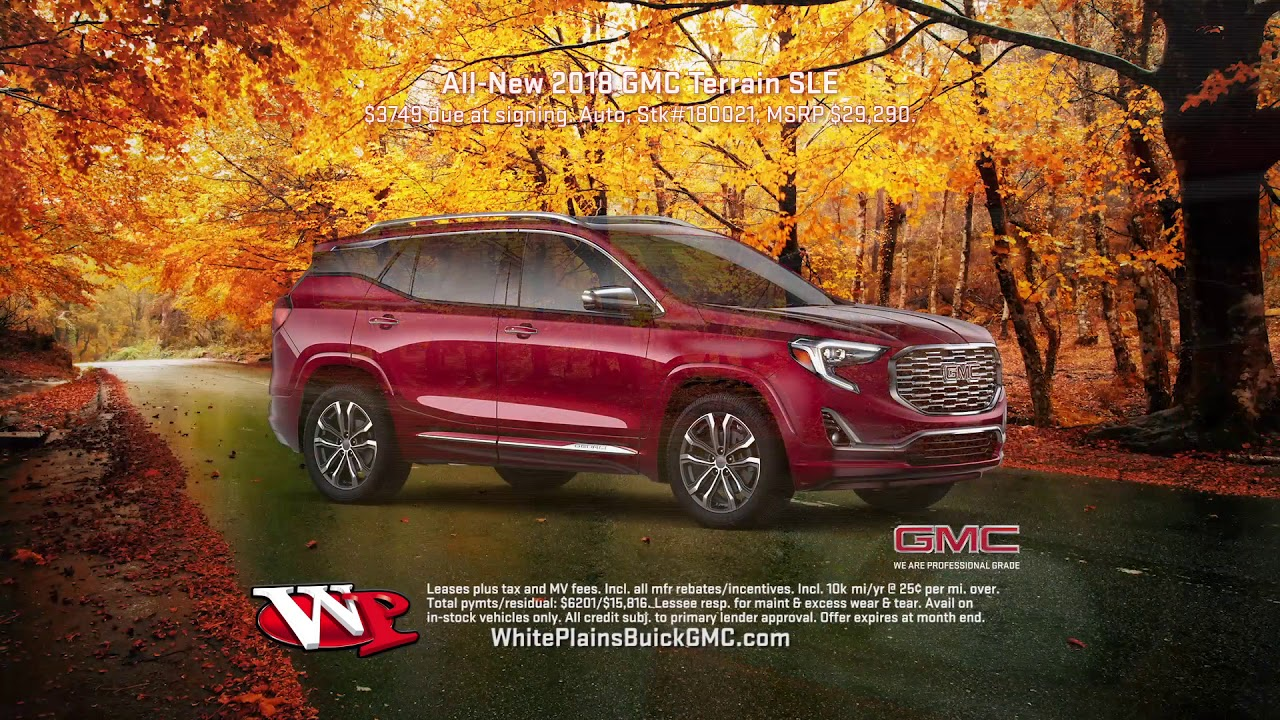 Exceptional Gmc Terrain Acadia Commercial November 2017
