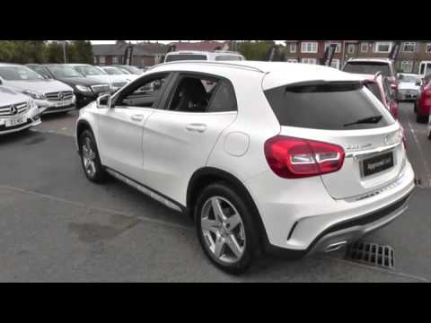 mercedes benz gla class gla 200d amg line 5dr auto u41264 youtube. Black Bedroom Furniture Sets. Home Design Ideas
