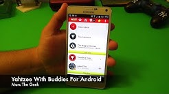 Yahtzee With Buddies on Android