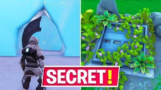 NEW Fortnite Secret Locations JUST Found in Season 9 Before 10