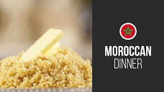 Moroccan Couscous || Around The World: Moroccan Dinner || Gastrolab