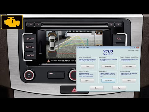 Camera - How to active / enable rear view camera on VW using vag-com , vcds  cable
