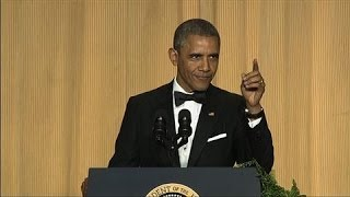 Obama Roasts Cable News Networks at WHCD