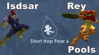 Isdsar vs Rey - Short Hop Pear 6 - Singles - Pools