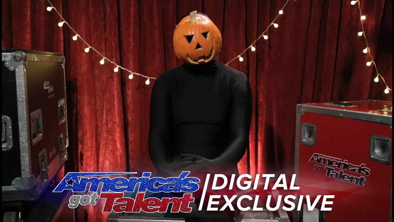 Americas got talent 2017 dancer - The Dancing Pumpkin Man Chats About His Spontaneous Dance Moves America S Got Talent 2017