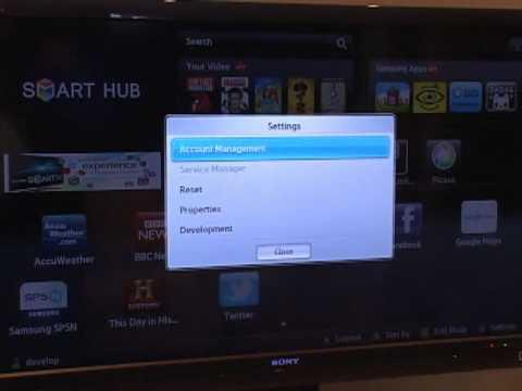 видео: Русское телевидение на samsung smart tv d series