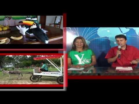Gilson Dantas Carmini, Corresponsal Internacional Telequince Caaguazú Paraguay