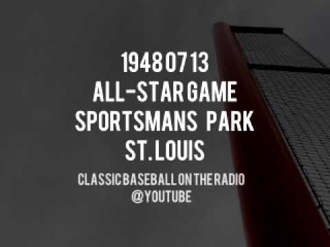 1948 07 13   All Star Game at Sportsman