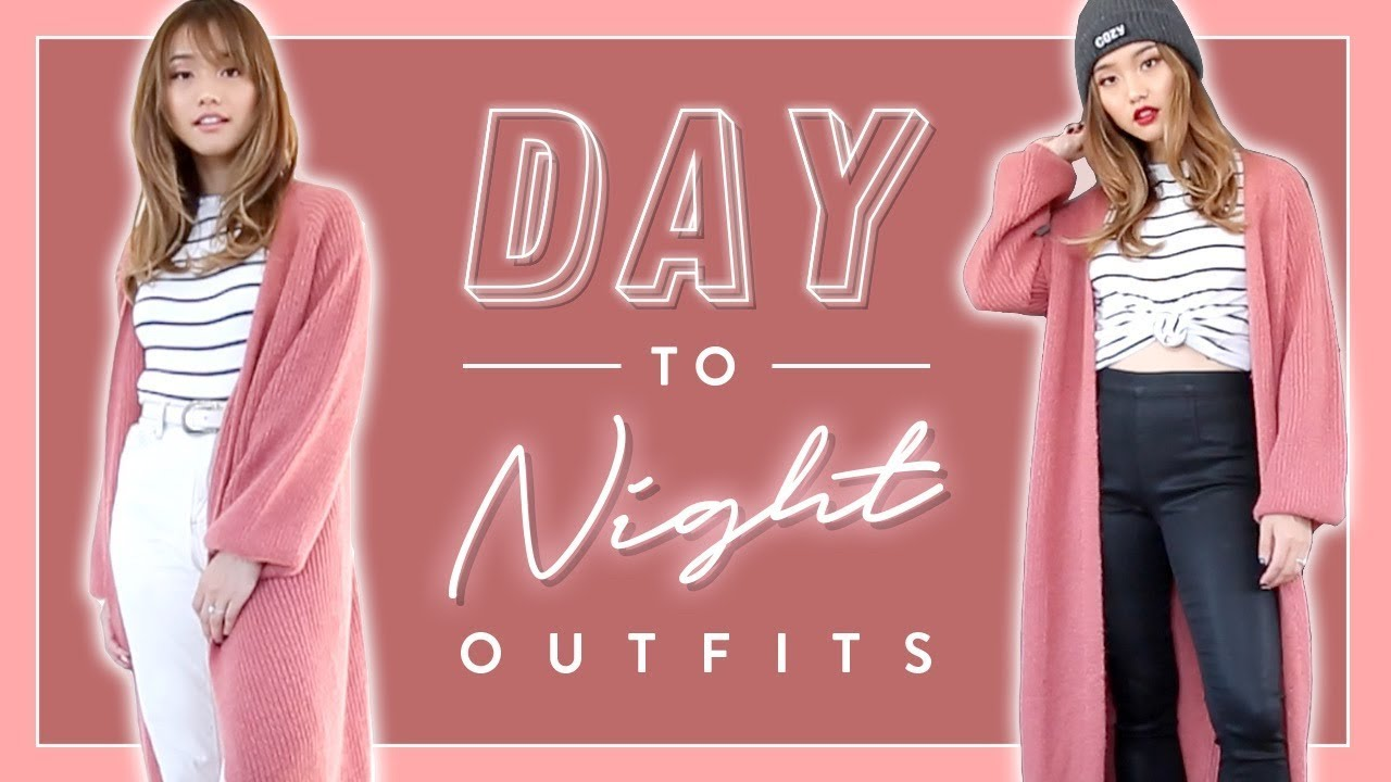 Day to Night Outfit Ideas   6 Fall Looks