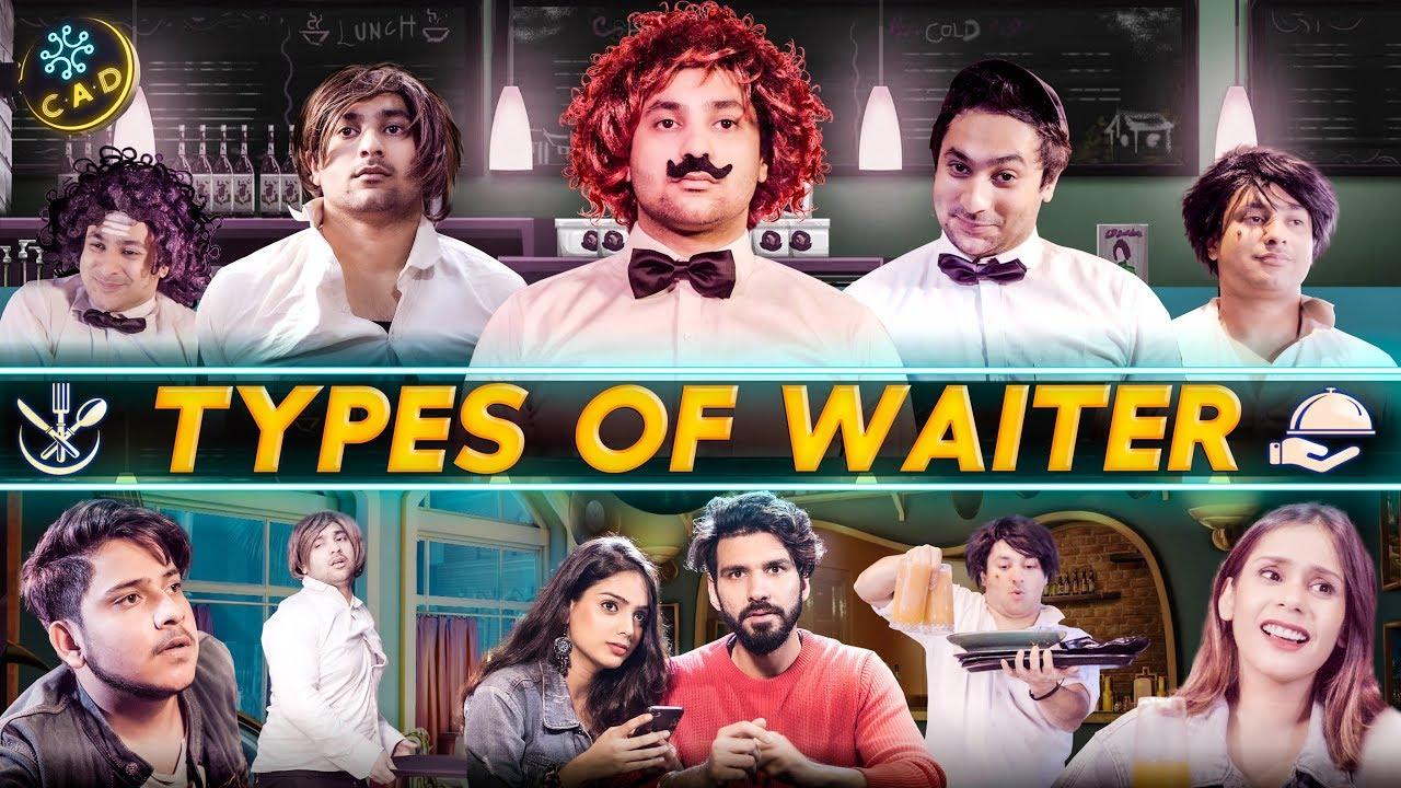 Download Types Of Waiter | Harsh Beniwal