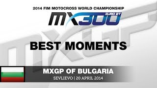 EMX300 Round of Bulgaria 2014 Highlights - Motocross