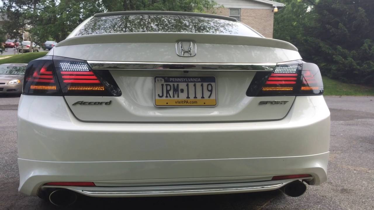 2014 honda accord sport chasing tail lights one of a kind in pa youtube. Black Bedroom Furniture Sets. Home Design Ideas