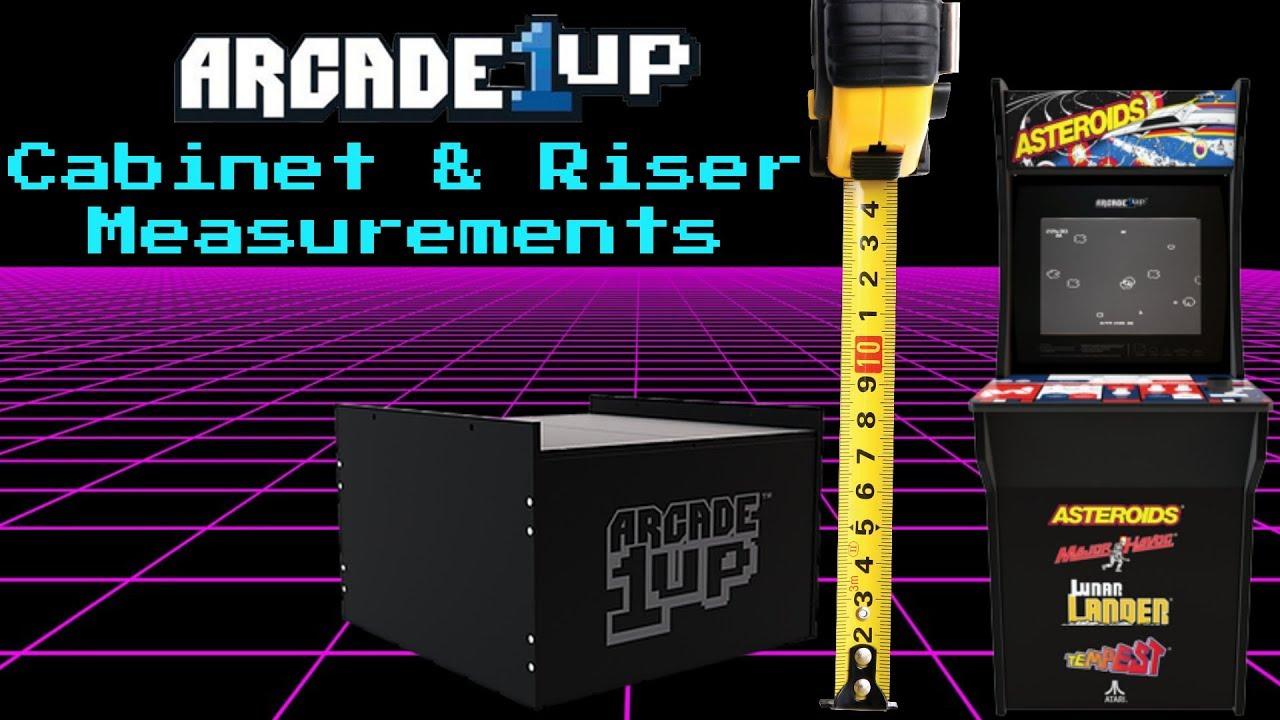 Arcade1Up Addresses Riser Measurements Dilemma