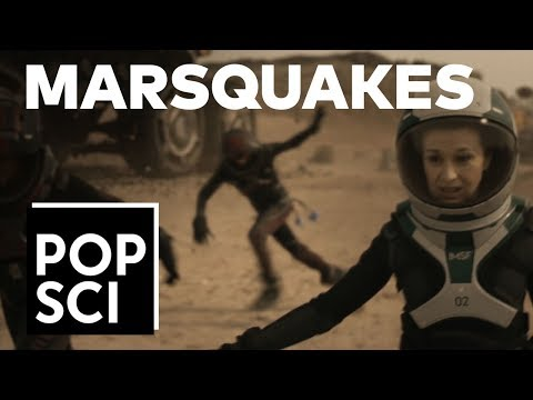 """EXCLUSIVE: How Mars settlers will survive marsquakes (from Nat Geo's """"Mars"""")"""