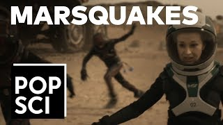 "EXCLUSIVE: How Mars settlers will survive marsquakes (from Nat Geo's Mars"")"