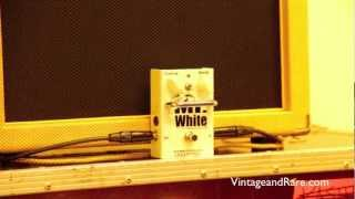 Sabbadius Mr White II REVIEW / 1980 Gibson Les Paul Heritage Standard 80 / Brownie 15 Hot Amps