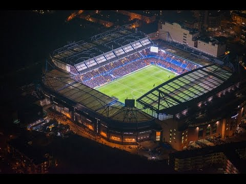 Fireworks & Lightshow at Chelsea's Stamford Bridge