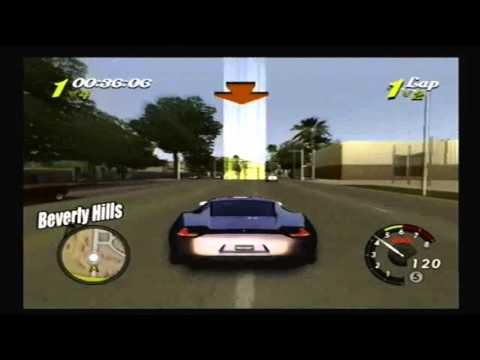 L.A. Rush PS2: Santa Monica Street Race 1