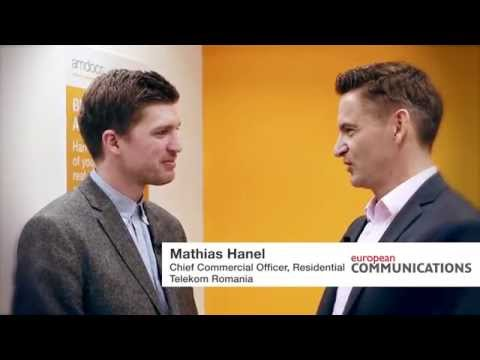 MWC 2015: Mathias Hanel, CCO at Telekom Romania